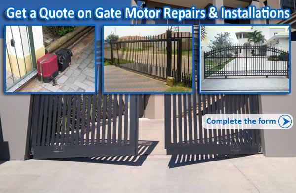 Gate Motor Repairs Johannesburg